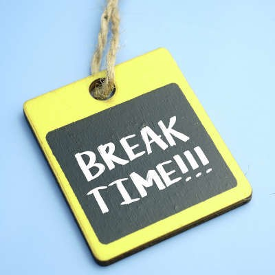 Why You Should Encourage Breaks